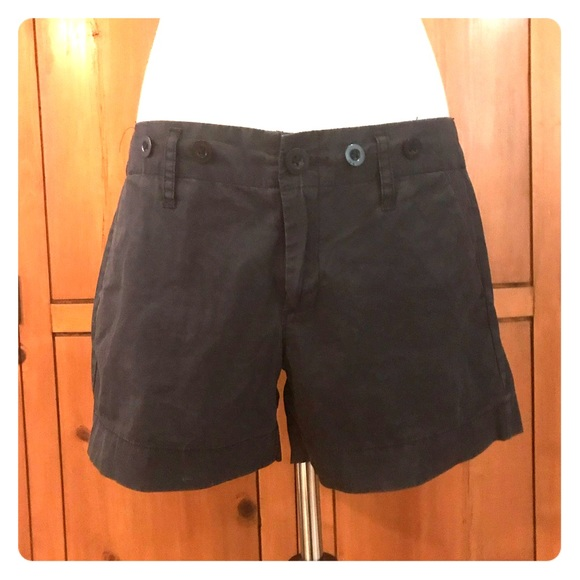 Anthropologie Pants - Paper Boy navy shorts, size 4. From Anthropologie.